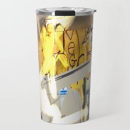 London Shoreditch graffiti Travel Mug