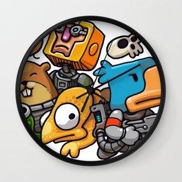 Heroes of Photonstorm Wall Clock