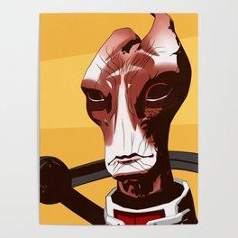 Mass Effect - Mordin Solus Poster