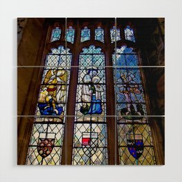 Stained Glass Wood Wall Art