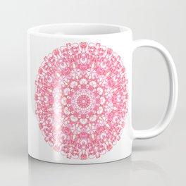 Mandala 12 / 1 eden spirit ruby red Coffee Mug