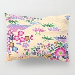 SUMI WITH PINK FLOWERS Pillow Sham