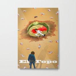 El Topo Fan Poster Metal Print