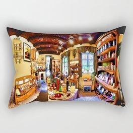 And Around We Go Rectangular Pillow