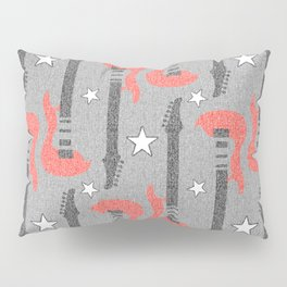 Rock and Roll_Guitar  Pillow Sham