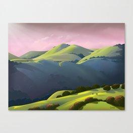 Hamilton Range Canvas Print