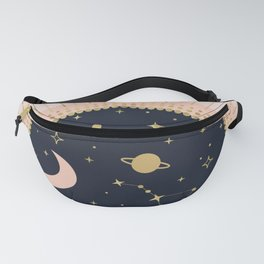 Love in Space Fanny Pack