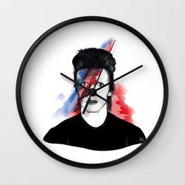 """Bowie - """"Starman"""" Wall Clock"""