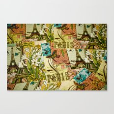 Paris in Spring Canvas Print