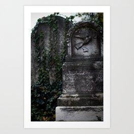 Cemetery 1 Art Print