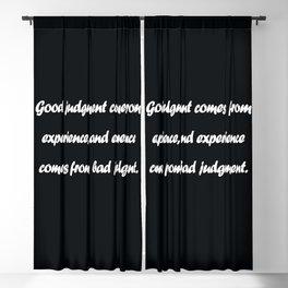 Barry LePatner Blackout Curtain
