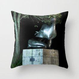 Brazilian Sculpture Museum Throw Pillow