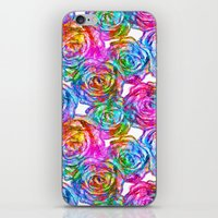 roses iPhone & iPod Skins featuring Roses by Aloke Design