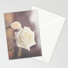 White Rose and Baby Stationery Cards