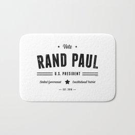 Vote Rand Paul 2016 Bath Mat