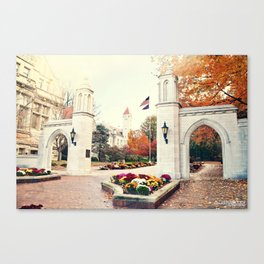 Indiana University Bloomington Sample Gates Canvas Print