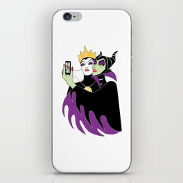 Wicked Selfie iPhone Skin