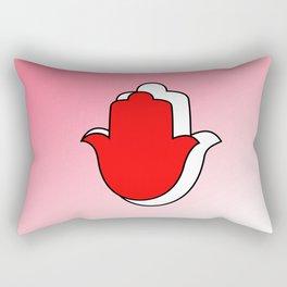 Symbol of Ahimsa Rectangular Pillow