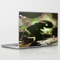rock n roll Laptop & iPad Skins featuring Rock N Roll by DTGTEEZ