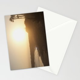 Golden Ocean Stationery Cards
