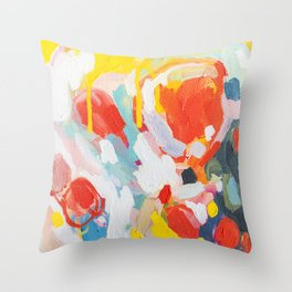 Color Study No. 6 Throw Pillow