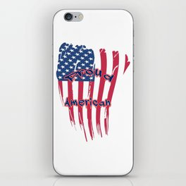 Proud American iPhone Skin