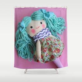 Silvana & bunny Shower Curtain