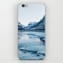 Winter in Innerdalen iPhone Skin