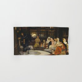 John William Waterhouse - Consulting the Oracle Hand & Bath Towel