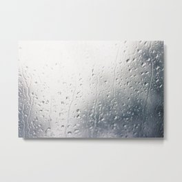 Rainy Mornings Metal Print