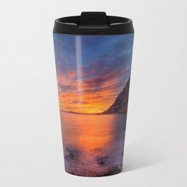Mala Beach Sunset French Riviera Travel Mug