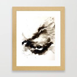 Black + White 2 Framed Art Print