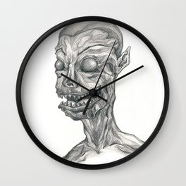 The Devil Within Wall Clock
