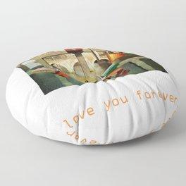 Love you forver Floor Pillow