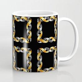 Twisted squares Coffee Mug