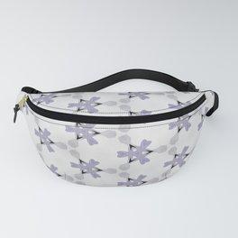 Multi Purple Pattern Design Fanny Pack