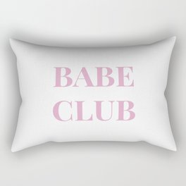 Babeclub white Rectangular Pillow