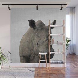 Rhino - Colorful Wall Mural