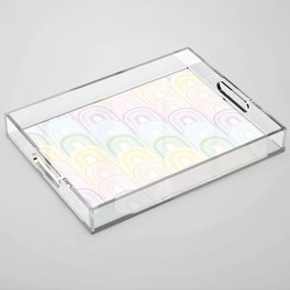 Rainbowland II Acrylic Tray