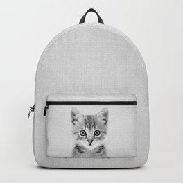 Kitten - Black & White Backpack