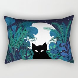 mystical cat Rectangular Pillow