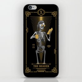 The Reader X Tarot Card iPhone Skin
