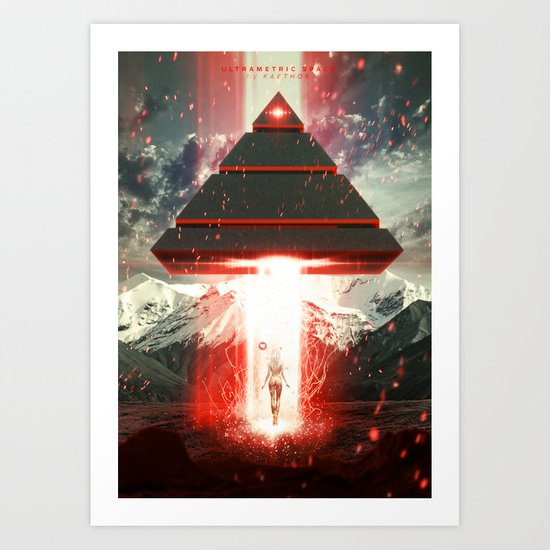 Ultrametric Space Art Print