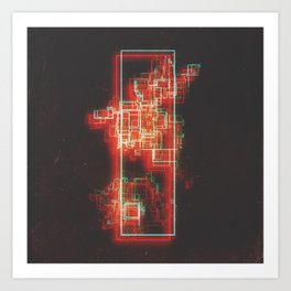 DAY 305: A PERFECTED STANDARDIZED ARCHIVAL METHOD V2 (CORROSION) Art Print