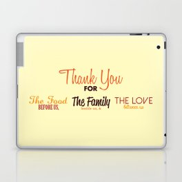 Thanksgiving Grace | Fall Colors Laptop & iPad Skin