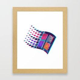 SUMMERBREEZE.psd Framed Art Print