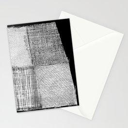 White & Grey Stationery Cards