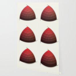 Le Rouge-Orangé (ses diverses nuances combinées avec le noir) Remake (Interpretation), no text Wallpaper