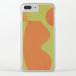 vase and sphere - B Clear iPhone Case