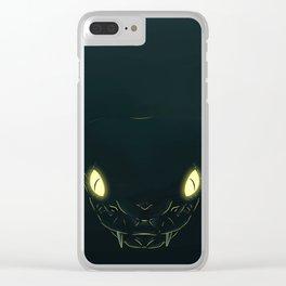 Mighty Snek Clear iPhone Case